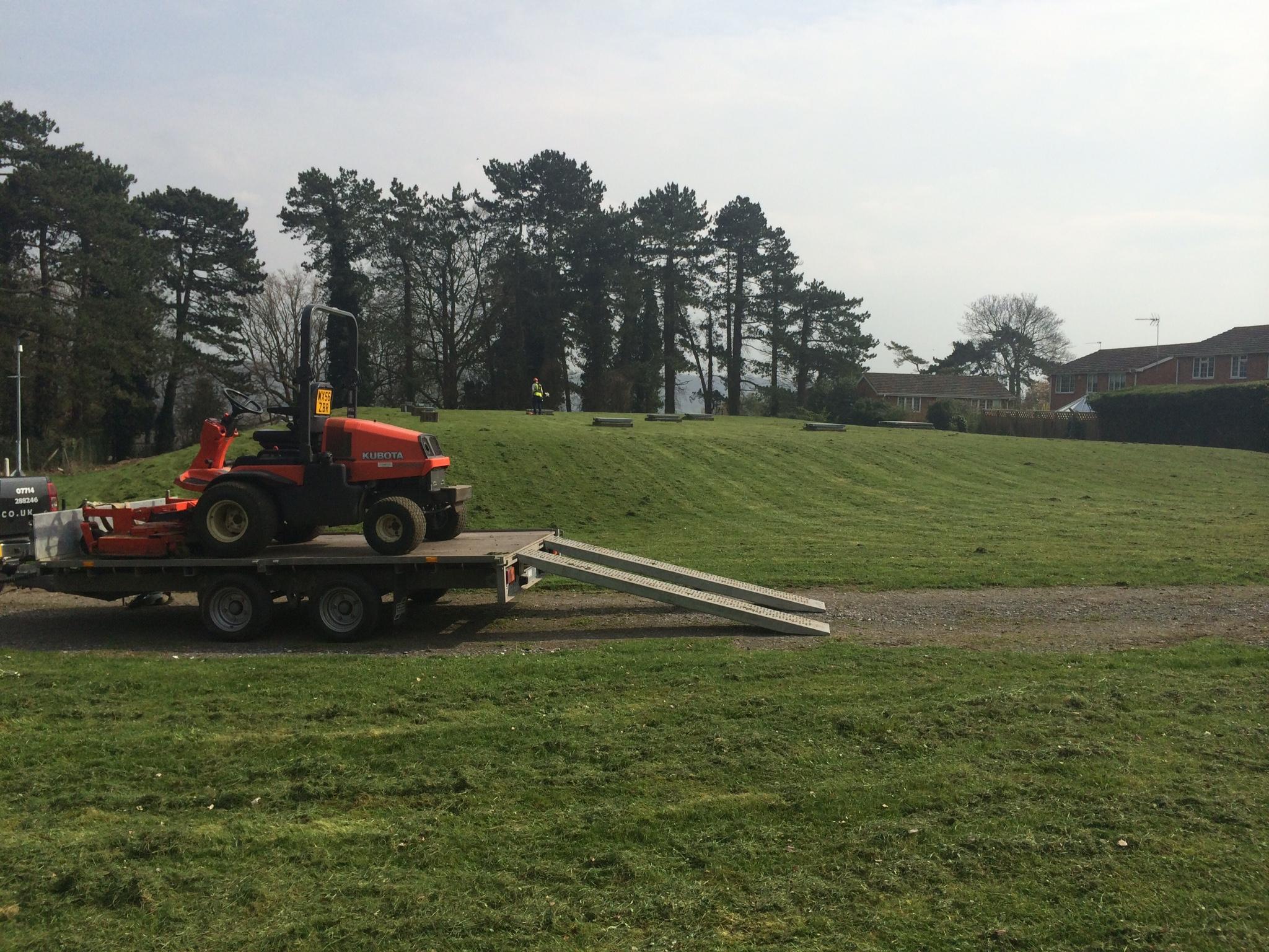 Grounds Maintenance machinery